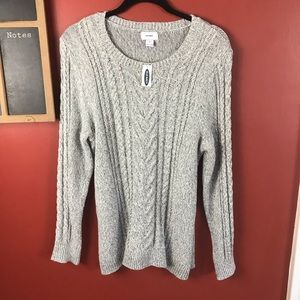 Old Navy NEW Sweater With Multicolored Specks